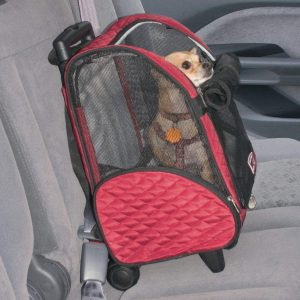 Snoozer Wheel Around Travel Pet Carrier